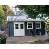 Bild von Azalp Blockhaus Lynn 450x400 cm, 45 mm