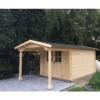 Bild 16 von Azalp Blockhaus Tim 500x500 cm, 45 mm