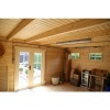 Bild 12 von Azalp Blockhaus Lars 550x400 cm, 45 mm