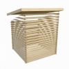 Afbeelding 4 van Woodfeeling Bastrup 7 met veranda 300 cm (73334)