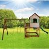 Afbeelding van AXI Speelhuisje Liam met glijbaan en dubbele schommel
