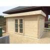 Bild 91 von Azalp Blockhaus Ingmar 450x350 cm, 45 mm