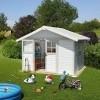 Afbeelding van Grosfillex 22907139 DECO H7,5 blauw-wit