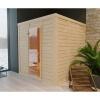 Afbeelding 13 van Azalp Massieve sauna Genio 180x166 cm, 45 mm