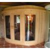 Afbeelding 3 van Azalp Sauna Runda 203x203 cm elzen