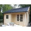 Bild 21 von Azalp Blockhaus Kinross 400x400 cm, 30 mm