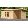 Afbeelding van Woodfeeling Kandern 7 met veranda 240 cm (83002)