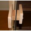 Afbeelding 33 van Azalp Massieve hoeksauna Genio 200x150 cm, 60 mm