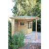 Bild 4 von Interflex Blockhaus 2555 Z, Seitendach 549 cm