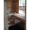 Afbeelding 5 van Azalp Massieve sauna Genio 240x210 cm, 45 mm