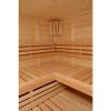 Bild 12 von Azalp Sauna Luja 240x220 cm, 45 mm