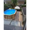 Afbeelding 6 van Ubbink Azura zomerzeil 450 x 250 cm rechthoekig model
