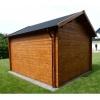 Bild 52 von Azalp Blockhaus Lis 350x350 cm, 45 mm