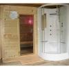 Afbeelding 22 van Azalp Massieve sauna Genio 240x210 cm, 45 mm