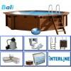 Afbeelding van Interline Bali Ø 440 x 136 cm inclusief pakket