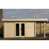 Bild 59 von Azalp Blockhaus Sven 400x350 cm, 45 mm