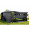 Bild 13 von Azalp Blockhaus Ingmar 550x500 cm, 45 mm
