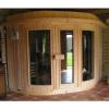 Afbeelding 4 van Azalp Sauna Runda 203x203 cm elzen