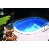 Afbeelding van Trend Pool Boordstenen Tahiti 737 x 360 cm wit (complete set ovaal)