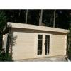 Bild 31 von Azalp Blockhaus Ingmar 450x350 cm, 45 mm