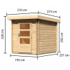 Afbeelding 2 van Woodfeeling Bastrup 1 (91491)