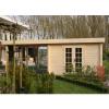 Bild 9 von Azalp Blockhaus Sven 400x350 cm, 45 mm