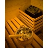 Bild 11 von Azalp Eck-Massivsauna Genio 150x240 cm, 45 mm