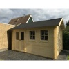 Bild 27 von Azalp Blockhaus Lynn 500x350 cm, 45 mm