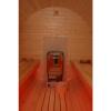 Afbeelding 5 van Azalp Buitensauna Barrel 207x230 cm in 45 mm