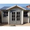 Bild 3 von Azalp Blockhaus Essex 450x450 cm, 30 mm