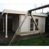 Bild 19 von Azalp Blockhaus Sven 400x350 cm, 45 mm