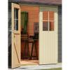 Afbeelding 3 van Woodfeeling Meulebeke 1 met veranda 300 cm Terragrijs