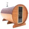 Afbeelding 12 van Azalp Buitensauna Barrel 207x230 cm in 45 mm