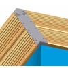 Afbeelding 3 van Ubbink Linéa 650 x 350 x 140 cm met blauwe liner en uitrusting
