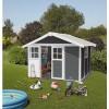 Afbeelding 4 van Grosfillex Set tegels voor tuinhuisje 11 m2