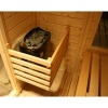 Afbeelding 35 van Azalp Massieve sauna Genio 180x166 cm, 45 mm