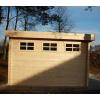 Bild 80 von Azalp Blockhaus Ingmar 550x500 cm, 45 mm