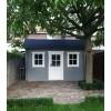 Bild 3 von Azalp Blockhaus Lis 450x400 cm, 30 mm