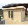 Bild 91 von Azalp Blockhaus Ingmar 550x500 cm, 45 mm