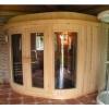 Afbeelding 3 van Azalp Sauna Runda 263x263 cm elzen