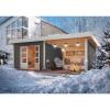 Afbeelding van Woodfeeling Northeim 3 met veranda 300 cm (91470)