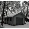 Afbeelding 10 van Azalp Garage Keutenberg 470x570 cm, in 95 mm
