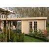 Bild 9 von Azalp Blockhaus Sven 500x450 cm, 45 mm