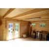 Bild 12 von Azalp Blockhaus Lars 350x400 cm, 45 mm