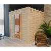 Afbeelding 2 van Azalp Massieve sauna Genio 240x220 cm, 45 mm