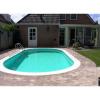 Afbeelding 16 van Trend Pool Boordstenen Tahiti 530 x 320 cm wit (complete set ovaal)