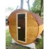 Afbeelding 14 van Azalp Buitensauna Barrel 207x230 cm in 45 mm