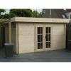 Bild 52 von Azalp Blockhaus Ingmar 450x350 cm, 45 mm
