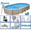 Afbeelding van Interline Diana 850 x 490 x 132 cm inclusief pakket