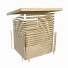 Afbeelding 4 van Woodfeeling Kandern 7 met veranda 240 cm (83002)